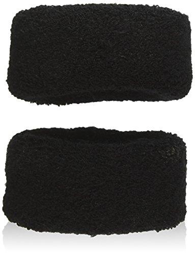 Sourcingmap Elastic Pferdeschwanz Halter Haar Tie Band problemlos, schwarz 2-teilig