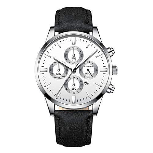 Hansee Herren Quarz kostbare Armbanduhr Magische Casual Minimalist Stil Klassische Uhren Gr. Einheitsgröße, M