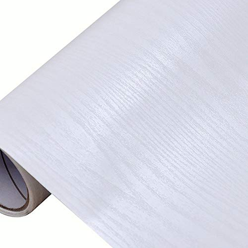 Demarkt zelfklevende folie behang plakfolie meubelfolie keukenfolie houtlook 40 * 300 cm