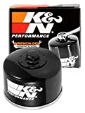 K&N Motorcycle Oil Filter: High Performance, Premium, Designed to be used with Synthetic or Conventional Oils: Fits Select Yamaha, Kymco Vehicles, KN-147