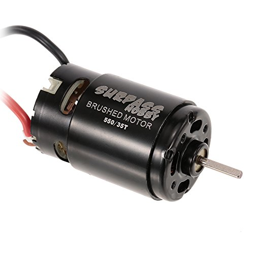 Goolsky Surpass Hobby 550 35T Brushed Motor for HSP HPI Wltoys Kyosho TRAXXAS 1/10 RC Car Off-Road Crawler Vehicle