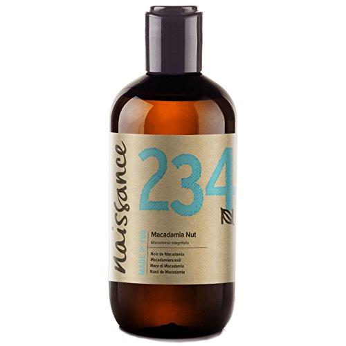 Naissance Huile Végétale de Macadamia - 250ml - 100% pure et naturelle