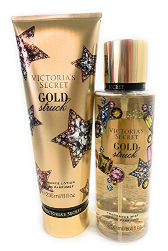 Victoria's Secret Gold Struck Fragrance Mist and Body Lotion