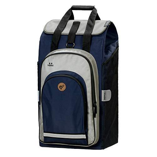 Andersen Shopper Tasche Hydro 2.0 62 Liter blau und mit integriertem Thermofach 8 Liter