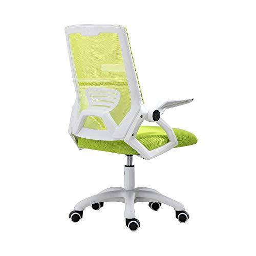 N/Z Daily Equipment Chair Drehbarer Computerstuhl Ergonomischer Bürostuhl mit verstellbaren Armlehnen Mesh-Schreibtischstuhl mit hoher Rückenlehne Rot