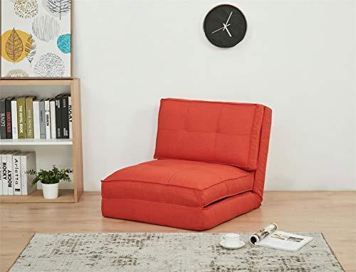 ARTDECO - Sillón cama juvenil, funda de tela