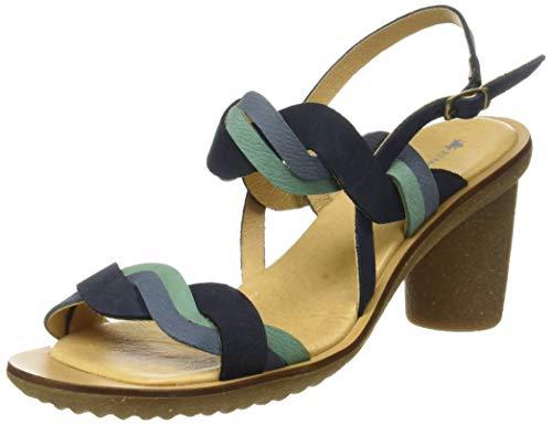 El Naturalista Trivia, Zapatos de tacón con Punta Abierta para Mujer,