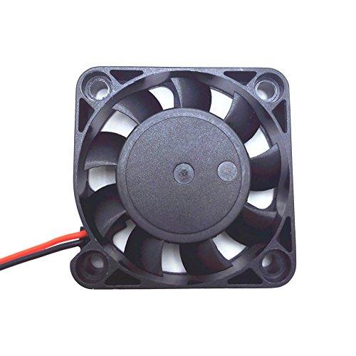 Solanton 5 V 0.14 A 40 x 40 x 10 mm pequeño Micro ventilador de refrigeración 4 cm 4010 sin escobillas DC USB ordenador portátil refrigerador ventilador 40 mm x 10 mm