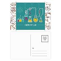 化学反応の化学ツール 公式ポストカードセットサンクスカード郵送側20個