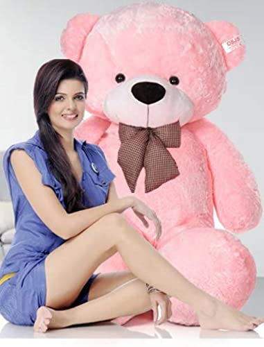 NP Toys Teddy Bear Specially for Girls Gifts Boys Kids Click for More Size Color Light Pink 3 Feet