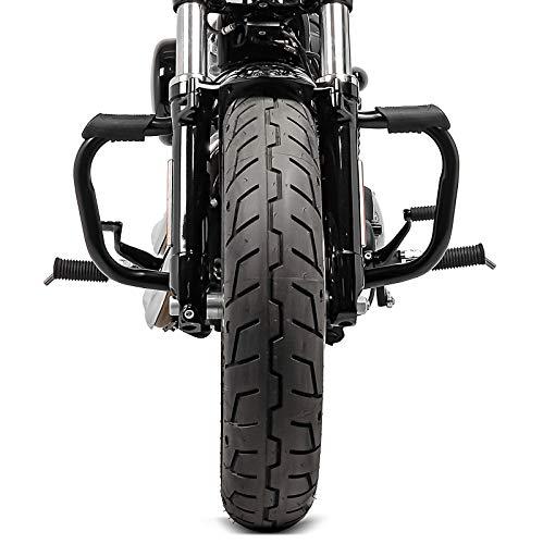 Sabot Moteur pour Harley-Davidson Sportster 04-20 Craftride Noir