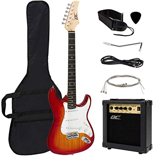 Best Choice Products 39in Full Size Beginner Electric Guitar Starter Kit review