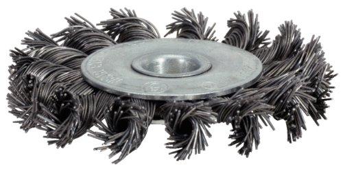 KS Tools 340.0042 - Brosse Circulaire Acier Torsadé 0,5 mm, Ø 115 mm