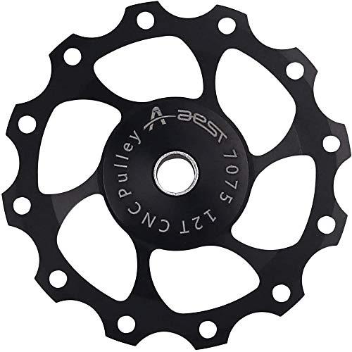 ANCLLO Perno de aleación de aluminio Bicicletas desviador trasero polea jockey rueda...