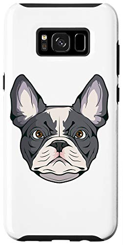 Galaxy S8+ French Bulldog Face Case
