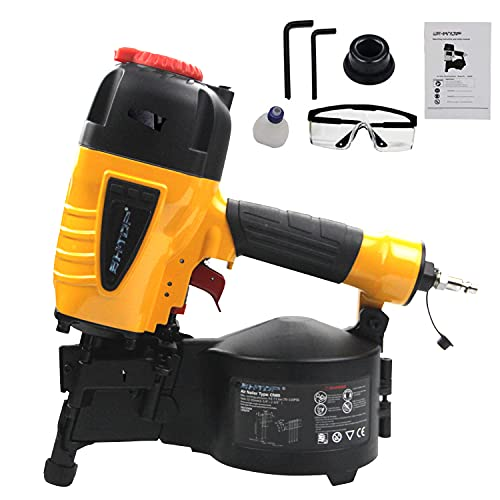 BHTOP 15-Degree Coil Siding Fencing Nailer 1 1/4-inch to 2-1/2-Inch for Siding, Fiber Cement, Fencing, Cedar Shake