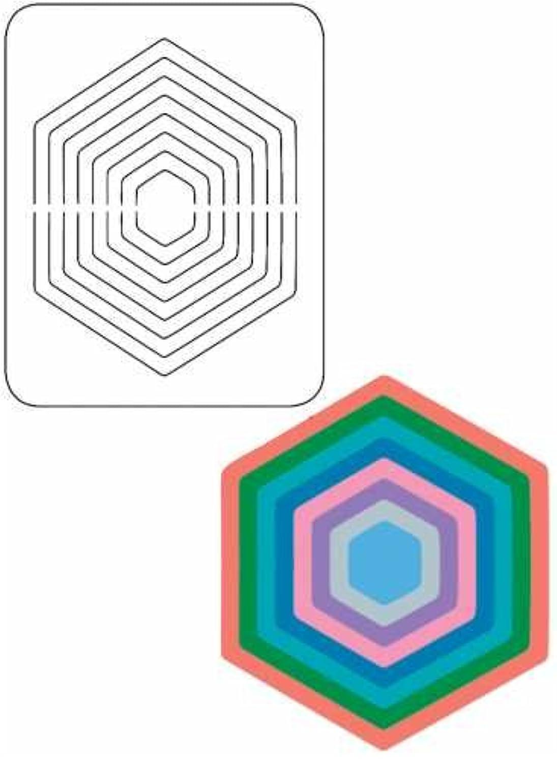 Provo Craft Coluzzle Nested Shape Template (6