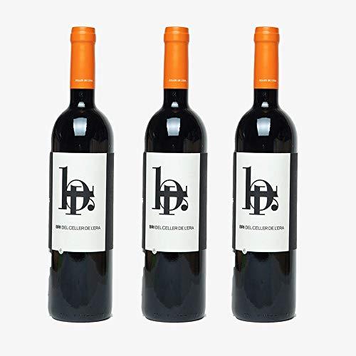 Vins&Co Barcelona Vino Bri 2014 – D.O. Montsant – Pack De 3 Botellas - Bodega Celler De L'Era – Crianza: 12 Meses - Vino Ecológico - Selección Vins&Co - 750 ml