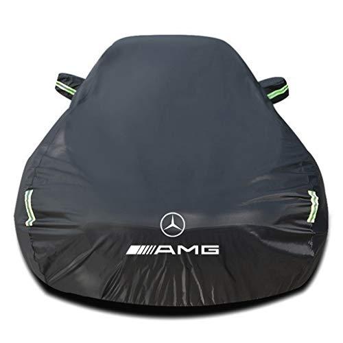 Whitejianpeak Autoabdeckung Kompatibel mit Mercedes-Benz SL-Class SL 63 AMG 2dr Roadster 2004-2021[R230 R231], Auto Wasserdicht Autohülle Abdeckung Autoabdeckplane Autoplane Vollgarage Autogarage