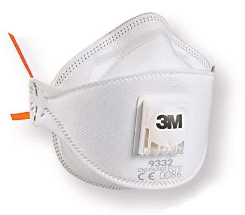 3M™ Atemschutzmaske Aura™ 9332+Gen3BV, FFP3 mit Ventil