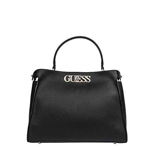 Guess Moda De Lujo Mujer HWVG7301060BLACK Negro Poliuretano Bolso De Mano | Ss21