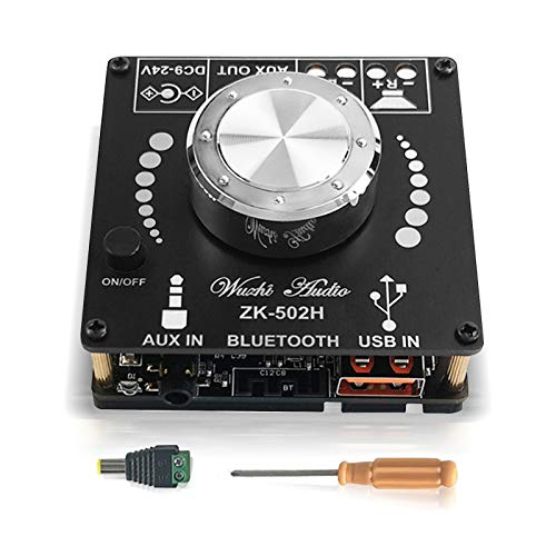 ZHITING HIFI 2.0 Stereo Bluetooth Digital Power TPA3116D2 Amplificatore Bluetooth Module 2.0 Channel 2X50W Audio Amplifier TPA3116D2 Bluetooth Amplifier Board