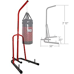 really cheap punching bag stand