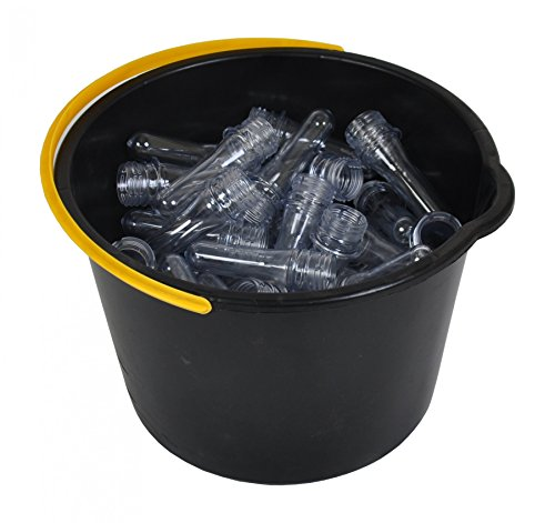 Buri 10 X Petlinge 10,5cm sin Tapa Geocaching Petling Botella Pet en Bruto