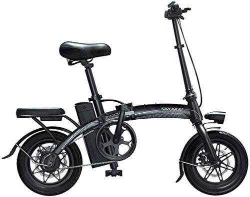 Bicicletas Eléctricas, Bicicletas eléctricas rápidas for adultos portátil y fácil de tienda de iones de litio y el pulgar silencioso motor de la E-Bici del acelerador con el LCD Pantalla de velocidad