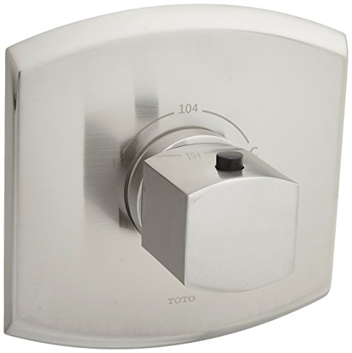 Toto TS960T#BN Soiree Thermostatic Mixing Valve, Trim only, Brushed Nickel -