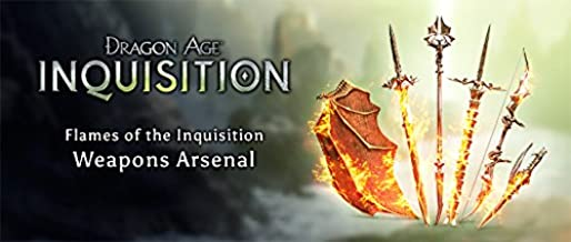 Dragon Age: Inquisition Flames of the Inquisition Weapons DLC Playstation 4 (PS4) [DIGITAL DELIVERY ONLY BY AMAZON MESSAGES]