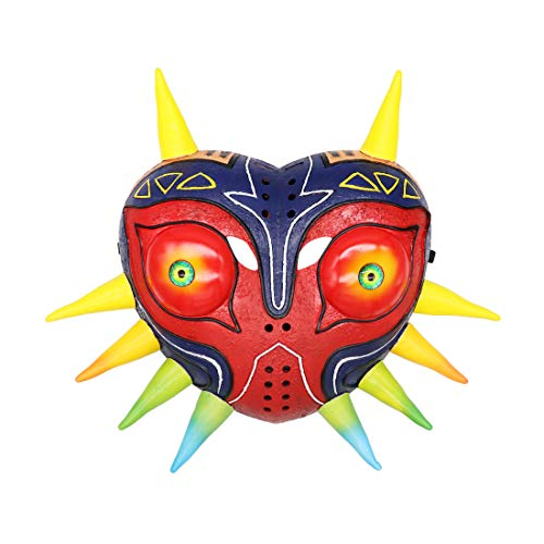 The Legend of Zelda: Majora'S Mask, 3D Resin Mask, Deluxe Mask Replica, Carnival Hallowen Cosplay Fancy Dress Costume Prop