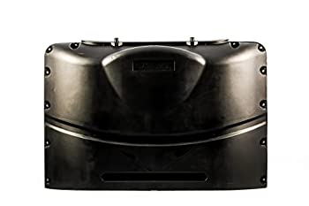 Camco Manufacturing 40568  Propane Tank Cover Black  Fits 20# Single Steel Dbl Tank