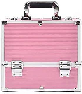 حقيبة دوارة لمستحضرات التجميل، صندوق منظم لتخزين مستحضرات التجميل، صندوق تنظيم أدوات التجميل، حقيبة تنظيم أدوات التجميل لل...