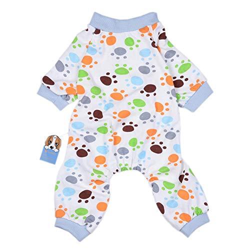 Hundepyjamas Hundebekleidung Katze kleidet Weich Cozy Baumwoll Haustierhemd Kleidung Freizeit-Abnutzung für kleine Hunde und Katzen