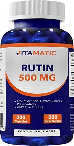 Vitamatic Rutin 500mg 200 Capsules