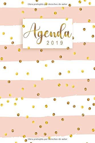 Agenda 2019: Organiza tu día - Agenda semanal 12 meses - Enero a Diciembre 2019
