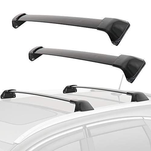 MOSTPLUS Roof Rack Cross Bar Rail Compatible with Honda CRV 2012 2013 2014 2015 2016 CR-V Cargo Racks Rooftop Luggage Canoe Kayak Carrier Rack