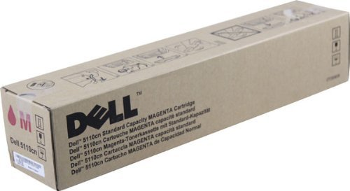 Genuine Dell KD566 (310-7894) Magenta Laser Toner Cartridge (up to 8,000 pages) (Renewed)