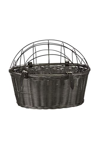 Trixie 13119 Front-Fahrradkorb, 44 × 34 × 35 cm, grau