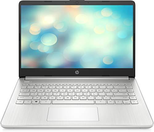 """HP 14s-dq2005ns - Ordenador portátil de 14"""" FullHD (Intel Core i7-1165G7, 8GB de RAM, 512GB SSD, Intel Iris Xe, Sin sistema operativo ) Plata - teclado QWERTY Español"""