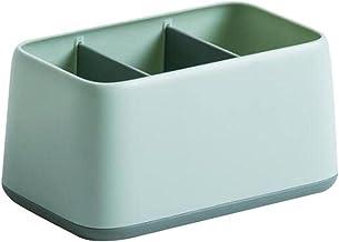 Pulpit zdalne sterowanie pudełko do przechowywania wielu kratek pojemnik do przechowywania rozmaitości do domu - zielony