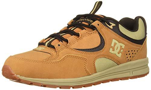 DC Men's Kalis LITE SE Skate Shoe, Wheat, 10 M US