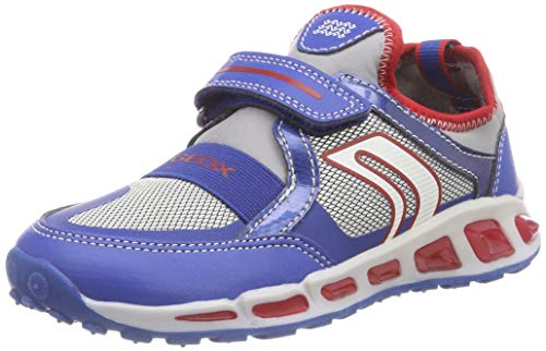 Geox Jungen J Shuttle Boy A Sneaker, Blau (Royal/Red C0833), 31 EU