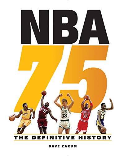 Compare Textbook Prices for NBA 75: The Definitive History  ISBN 9780228102908 by Zarum, Dave