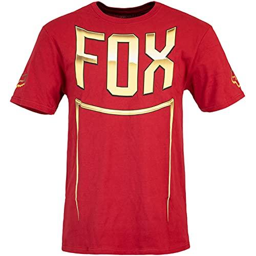 Fox Cntro - Camiseta para hombre rojo M