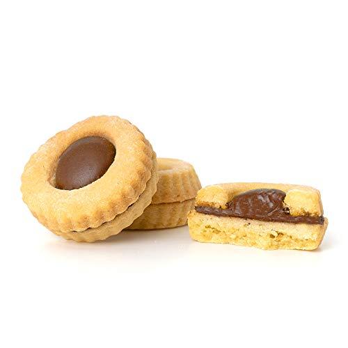 Occhi di Bue alla Nutella Artigianali 1 Kg Dolciaria Fiorillo | Biscotti di frolla freschi |...