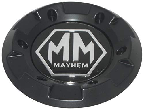 Mayhem Matte Flat Black Wheel Rim Replacement Center Section Cap Only C-231-2