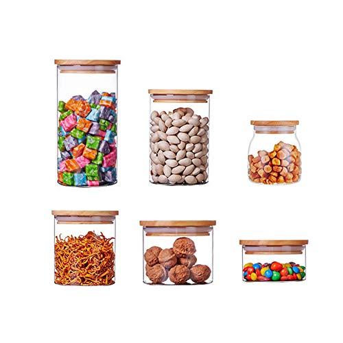 ZHHAOXINST Küche Vorratsdosen Set, Frischhaltedosen, BPA frei Vorratsbehälter, Spülmaschinengeeignet, Luftdicht wasserdicht, Aufbewahrungsdose BPA Frei, Transparent