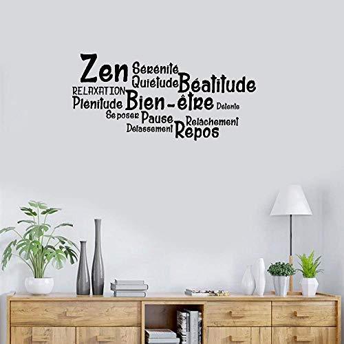 Wandtattoo / Wandaufkleber, Vinyl, Zitat